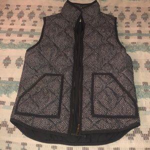 Jcrew women's gray vest size small